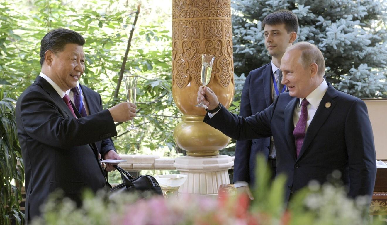 Sự trùng hợp trong phát biểu của TT Putin về liên minh quân sự Nga-Trung và phản ứng của Trung Quốc - Ảnh 1.