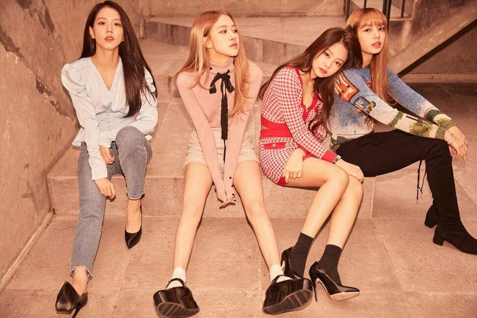 Blackpink, salah satu grup K-pop paling populer.  Foto: YG Entertainment