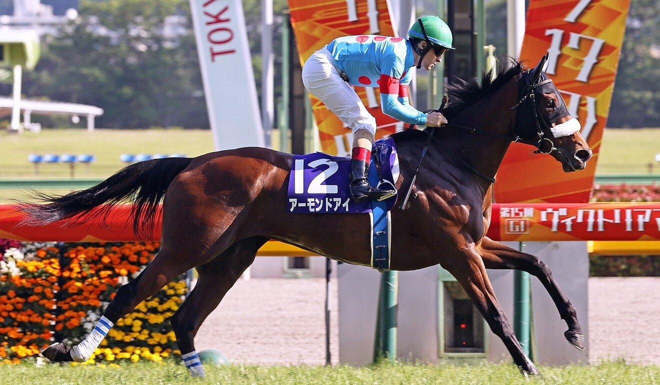 Almond Eye wins the Victoria Mile. Photo: Japan Racing Association