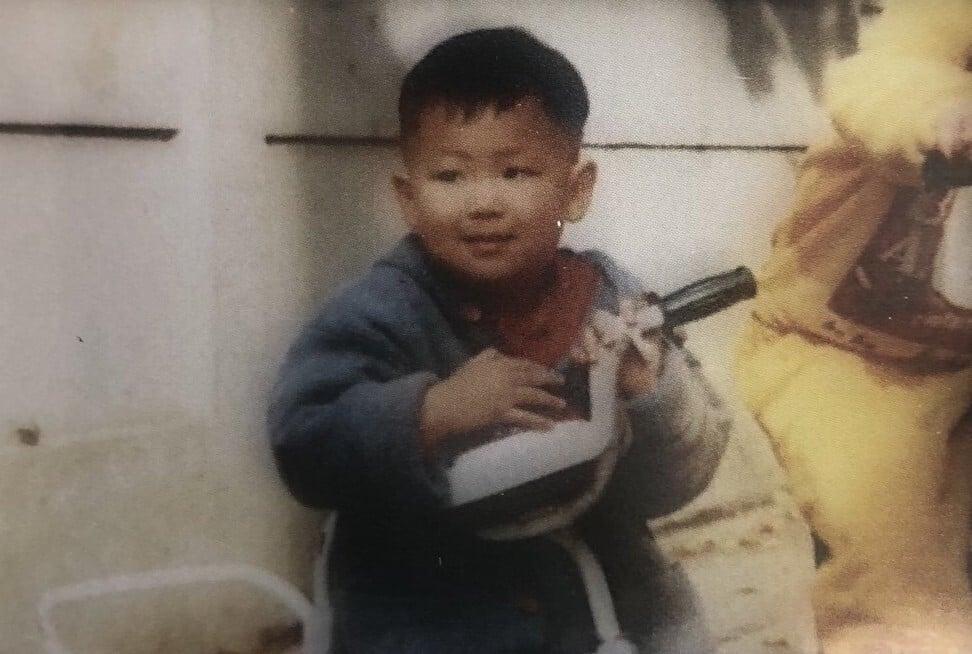 RM de BTS em sua infância. Foto: @ Lemonamurm / Twitter
