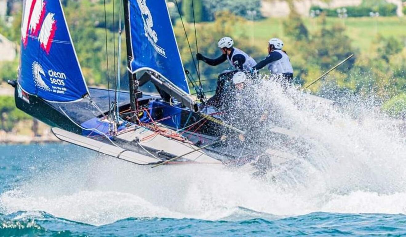 Les bateaux déjouant décollent de l'eau leur permettant d'atteindre la vitesse maximale. Photo: Document