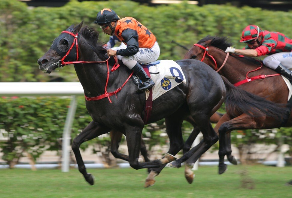 Viva Chef storms to victory at Happy Valley on Sunday.