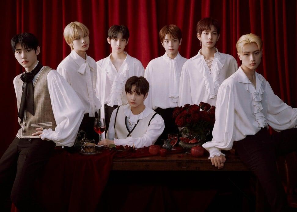 Bahkan tanpa ada musik yang dirilis, Enhypen telah menjadi salah satu grup K-pop paling populer di dunia.  Kredit: Belift Lab