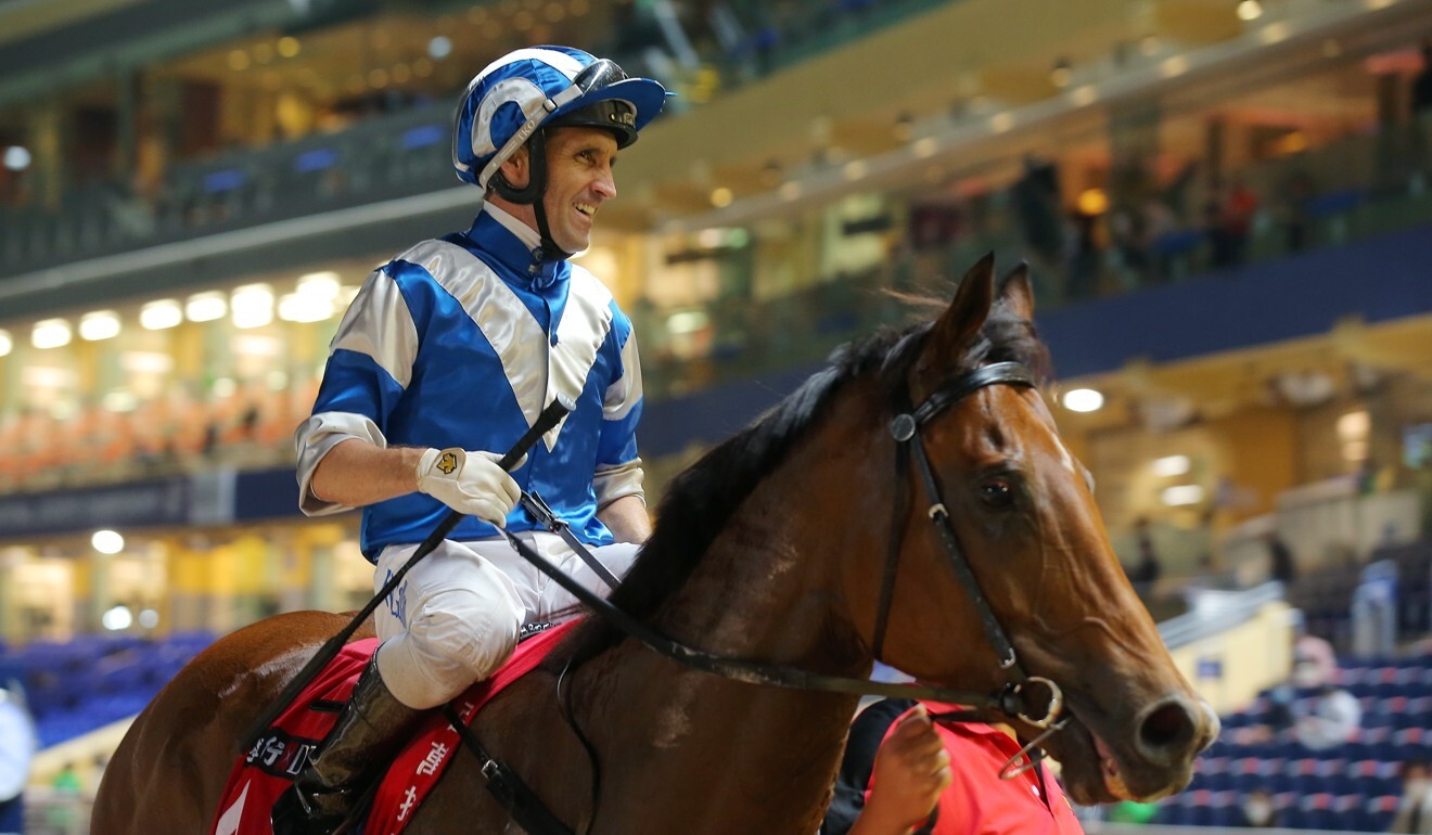 Neil Callan returns after winning at Happy Valley.