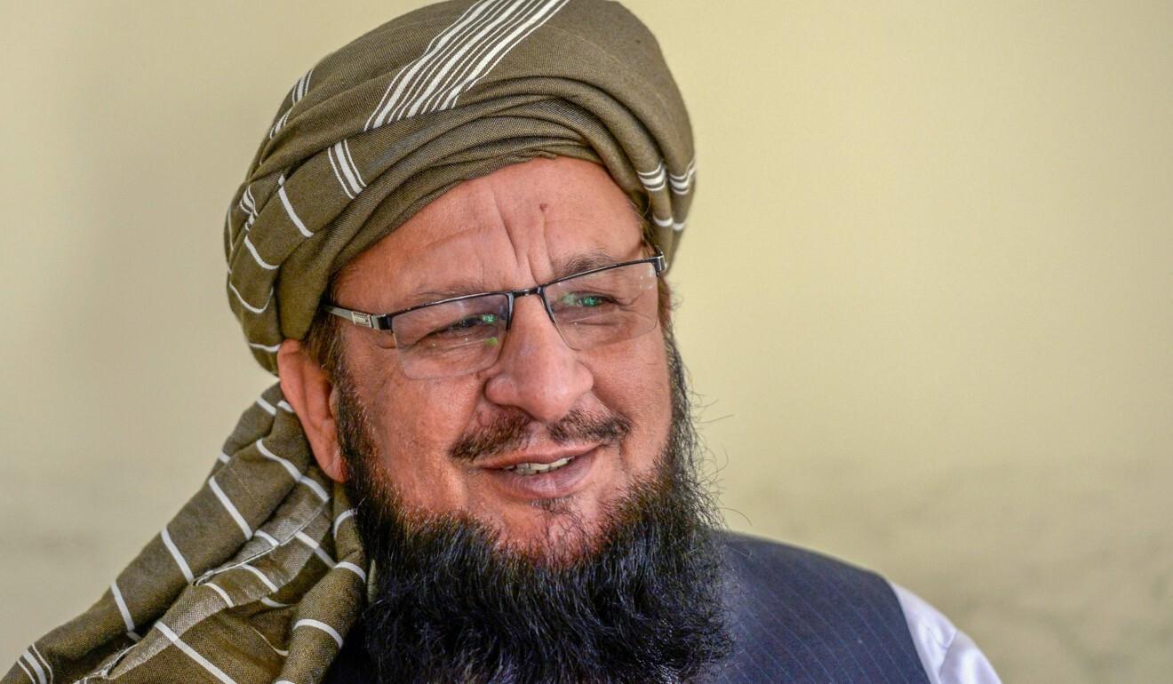 Maulana Yousaf Shah, spokesman of religious political pary, Jamiat Ulema Islam-Sami. Photo: AFP