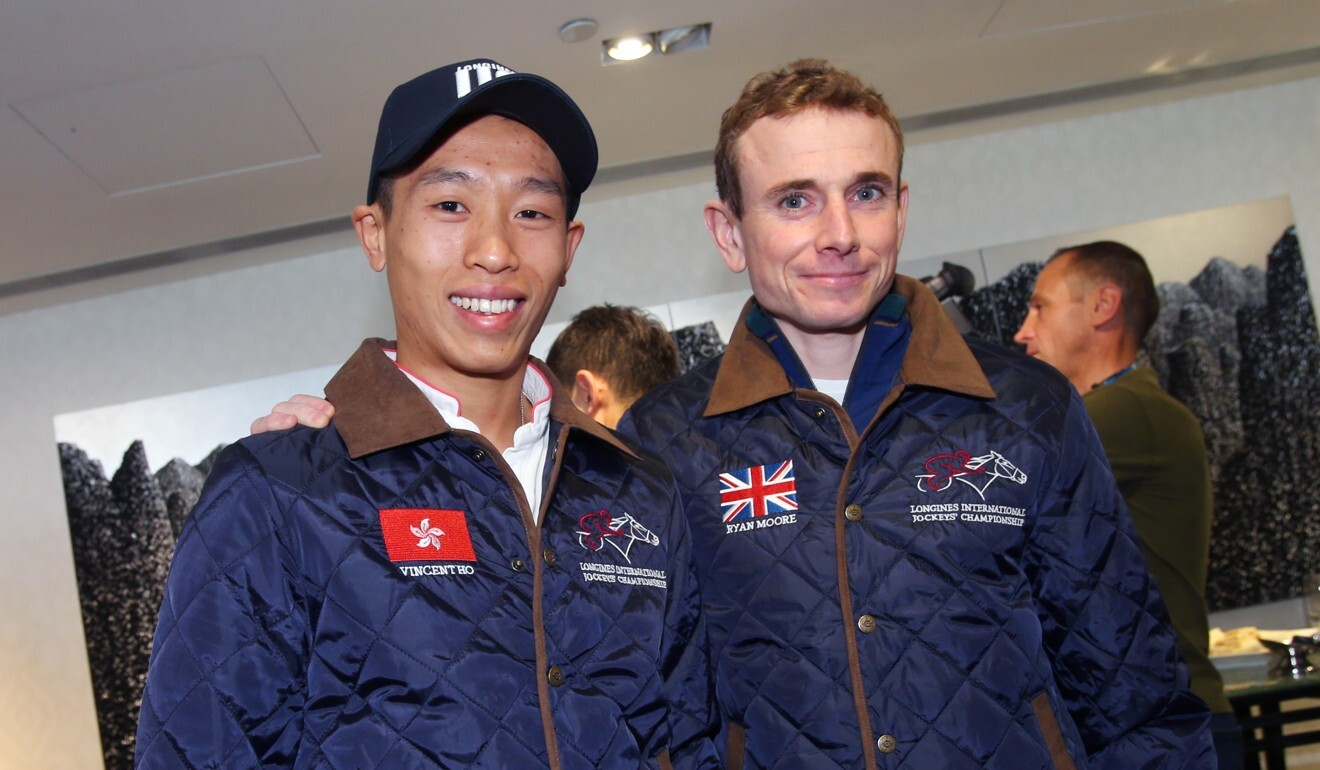 Vincent Ho and Ryan Moore.