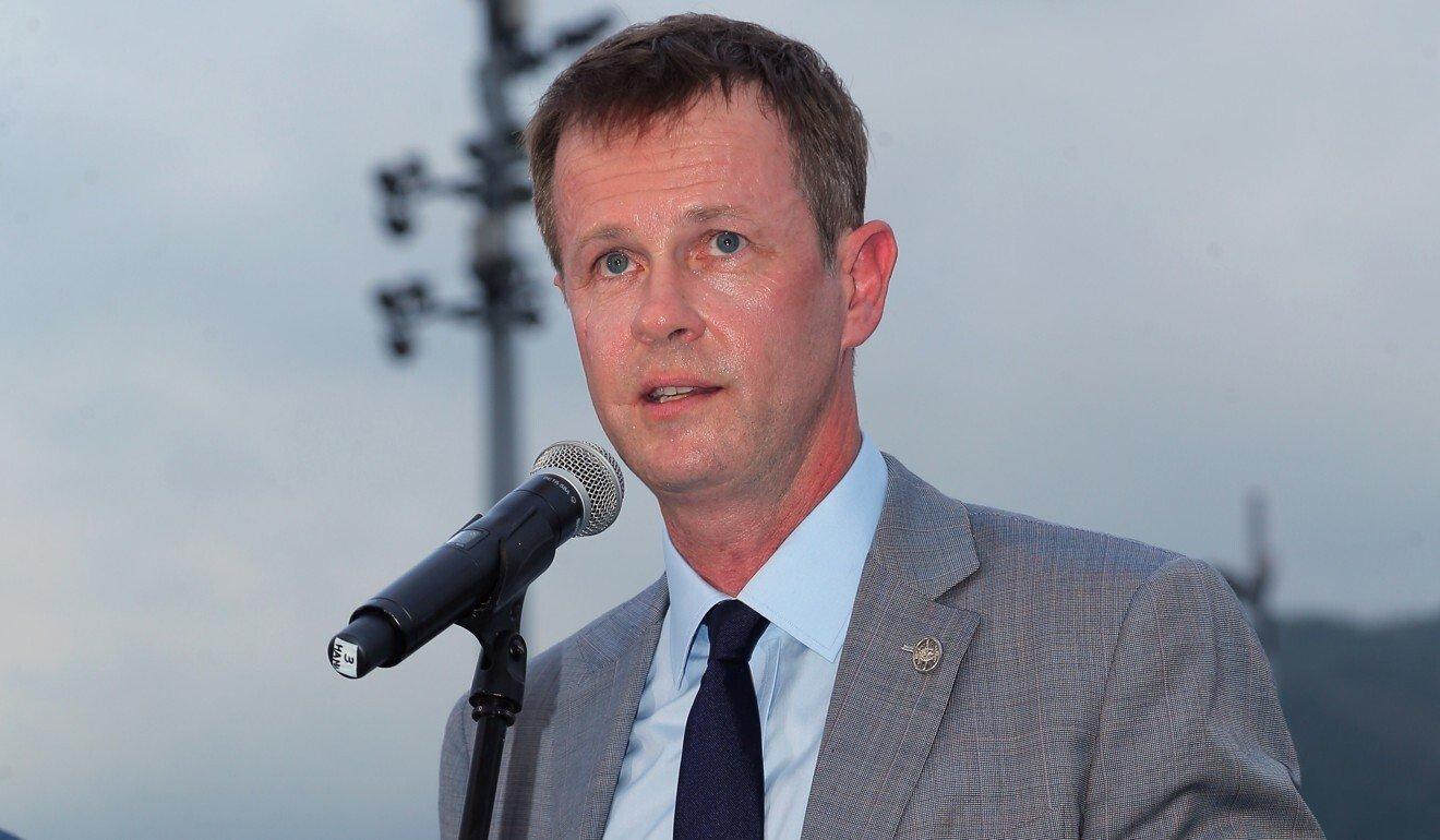 Jockey Club executive director of racing Andrew Harding.