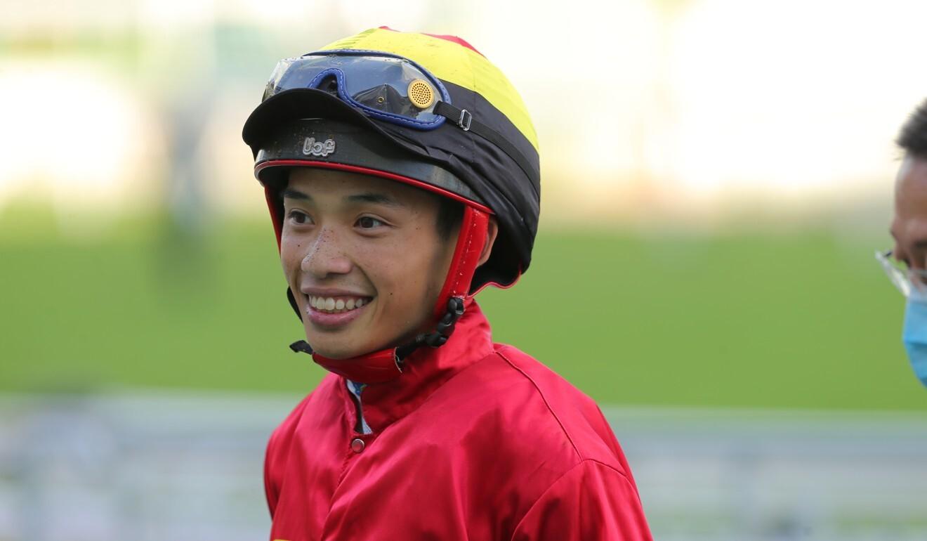 Jockey Jack Wong.