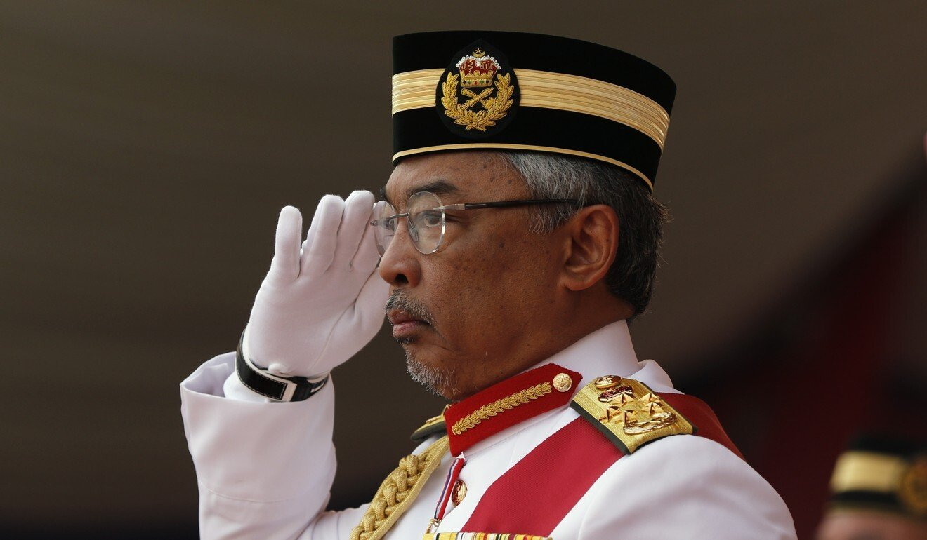 Sultan Abdullah was elected Malaysia's king in January last year. Photo: EPA