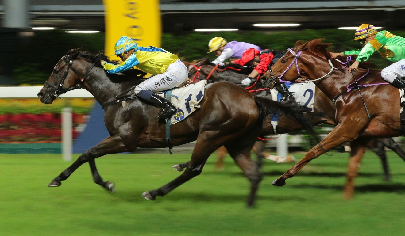 Massive Pocket wins at Happy Valley in June.