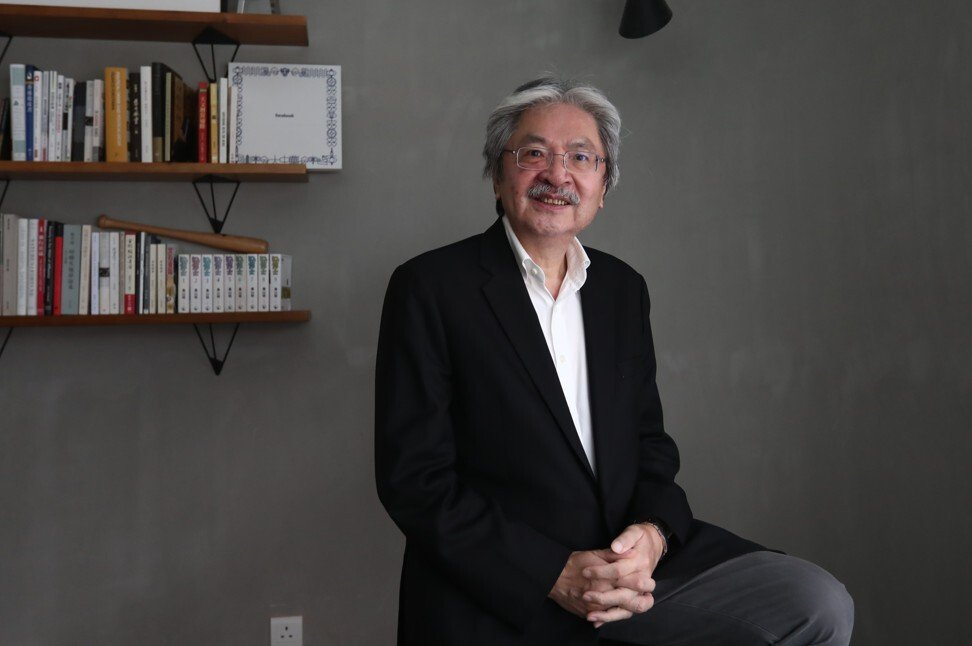 John Tsang, former financial secretary of Hong Kong and founder of non-profit organisation Esperanza, says education is in need of urgent reform and technology will play a key role. Photo: SCMP/Jonathan Wong