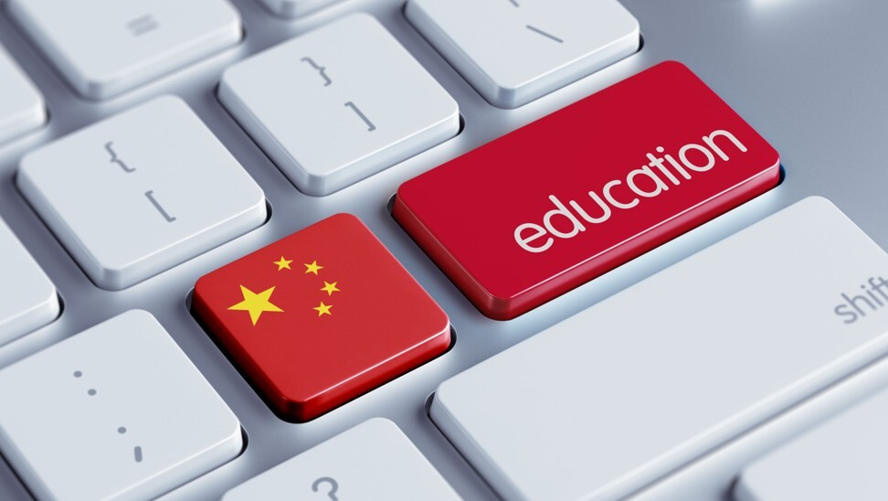 China is tipped to lead the global development of edtech – an area with huge, untapped potential – after only 4 per cent of the US$6.3 trillion spent on education worldwide this year went on digital fields. Photo: Shutterstock