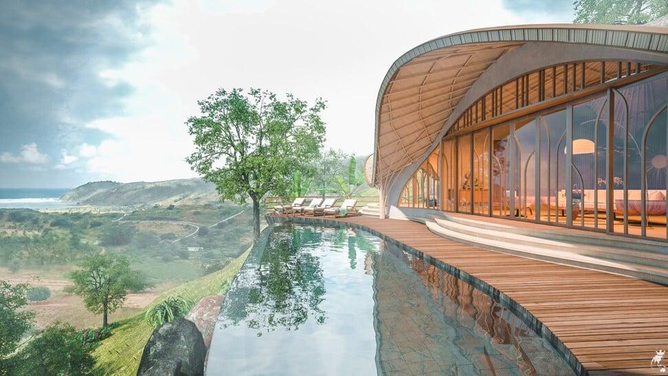 Invest Islands eco-luxury villa. Photo: Handout