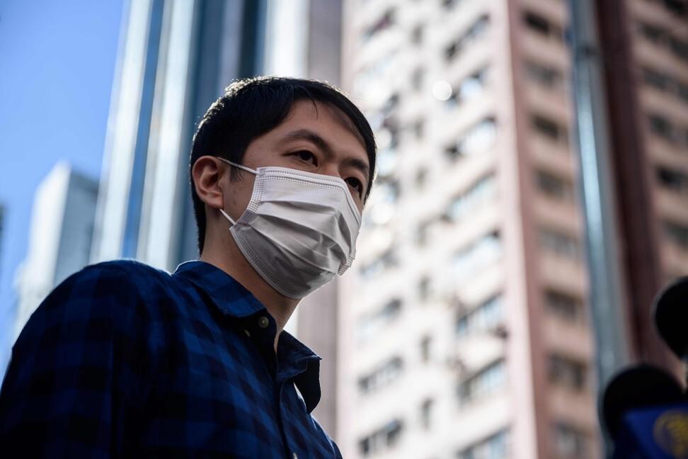 Former lawmaker Ted Hui. Photo: AFP