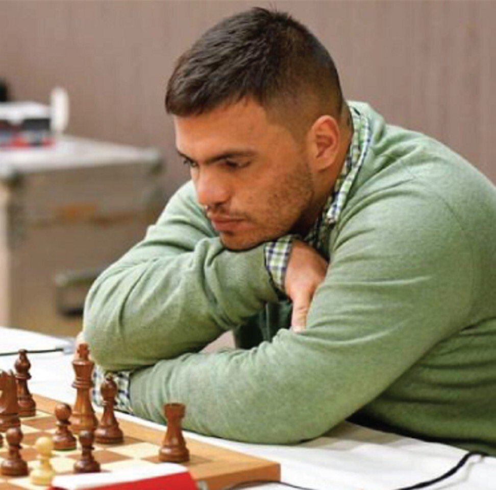 Andres Gallego wanted to be a goalkeeper in his native Colombia before switching to chess at 12. Photo: ActiveKids