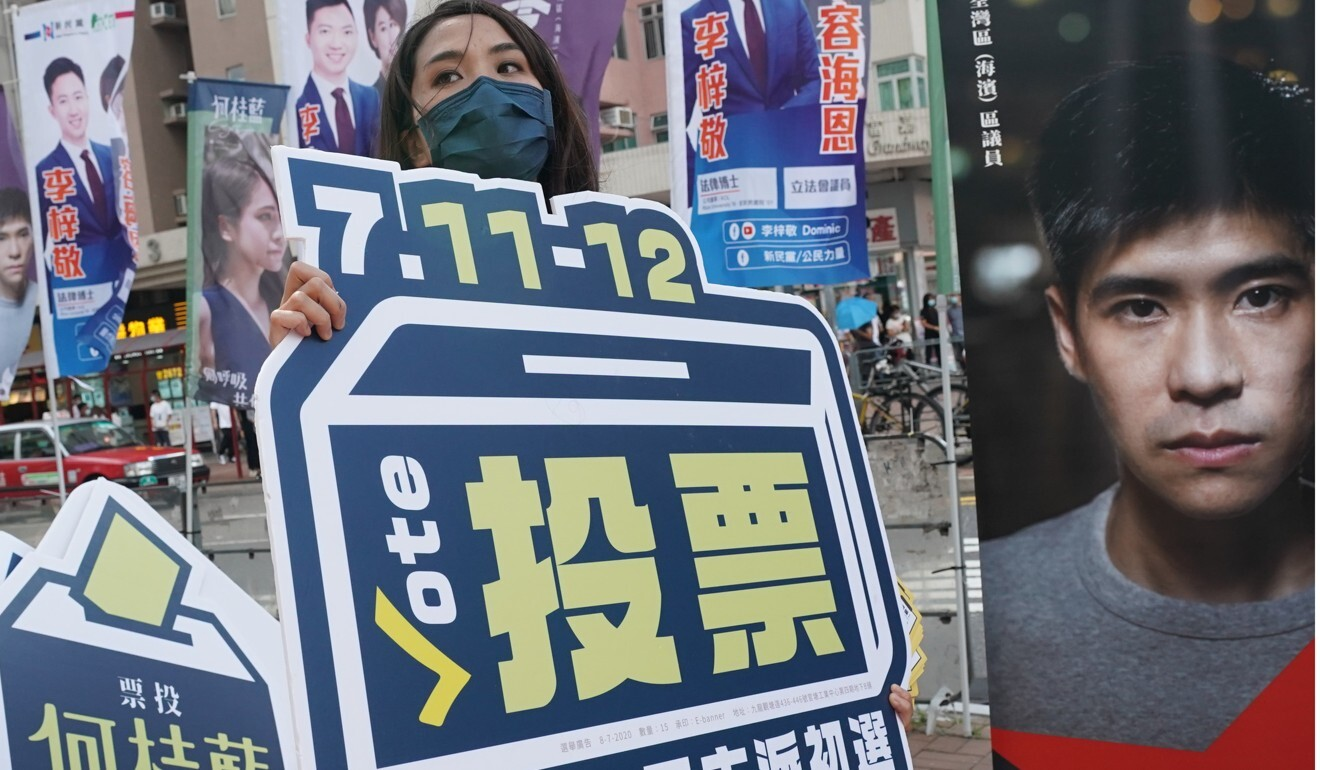 Last July the opposition camp held a primary election in which 610,000 people voted. Photo: Felix Wong