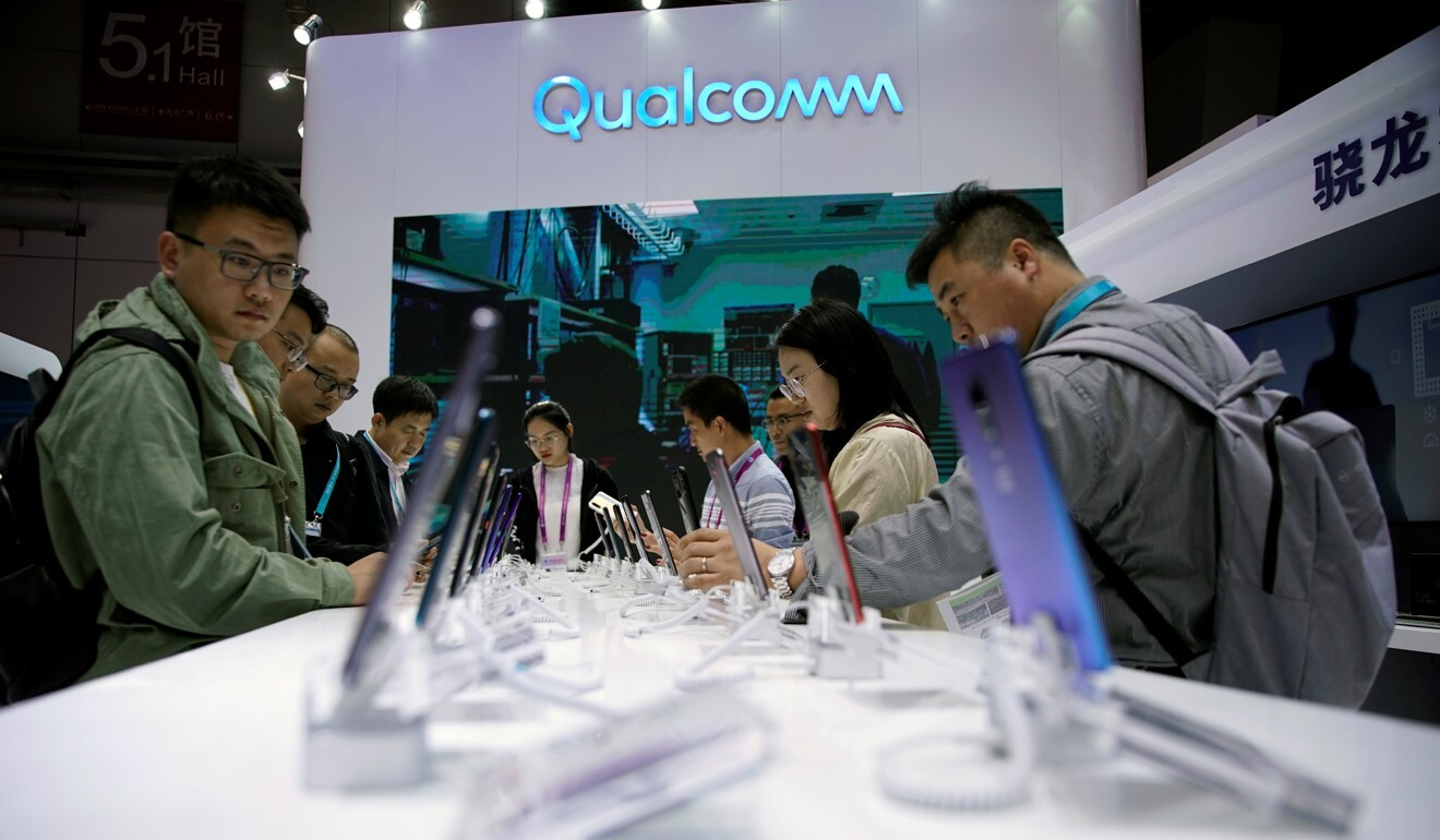 In 2015, US telecoms chip supplier Qualcomm paid about US$1 billion to end a 14-month-long government probe into anti competitive conduct in China. Photo: Reuters