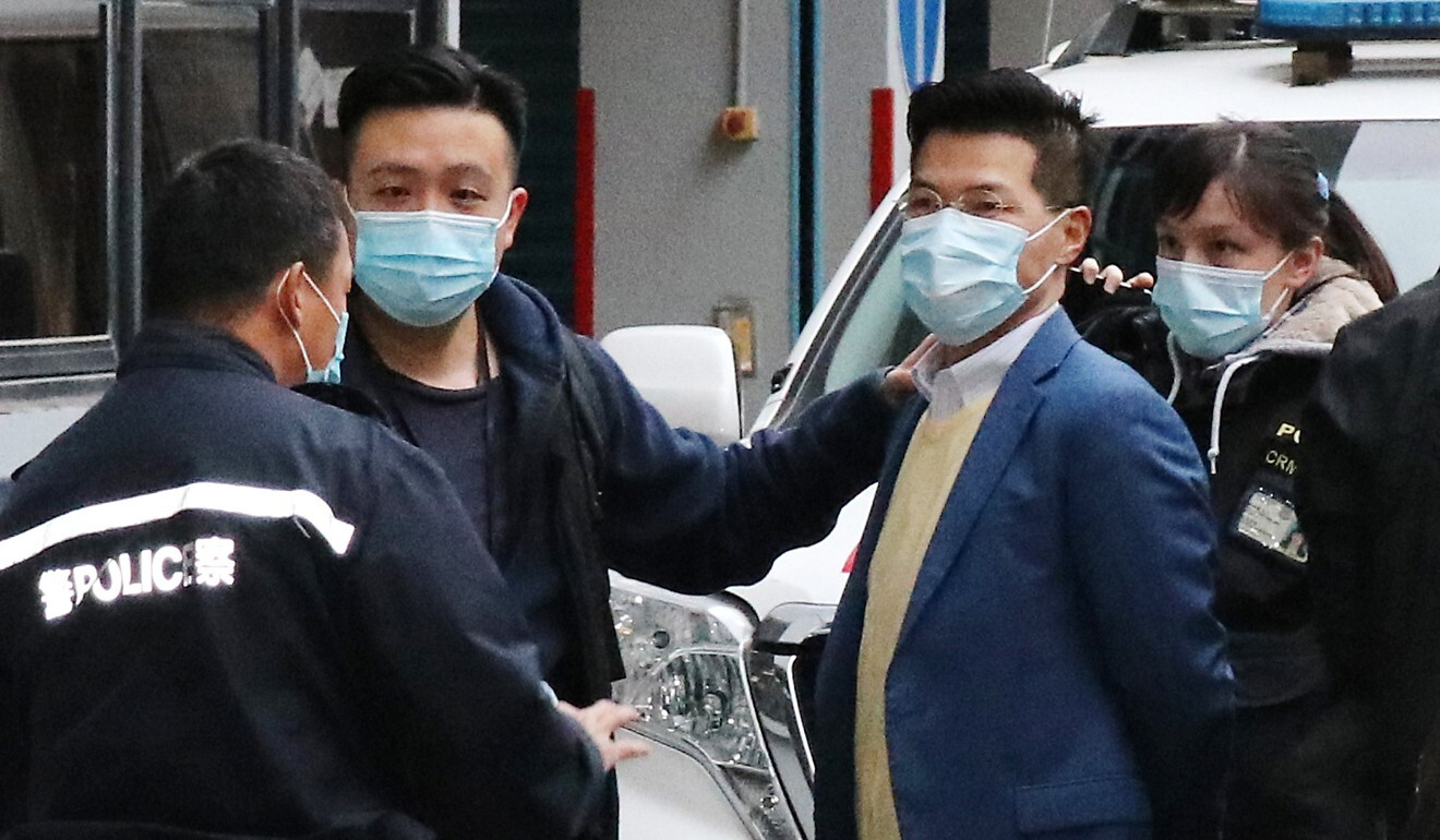 Former lawmaker Gary Fan was among those arrested. Photo: Handout