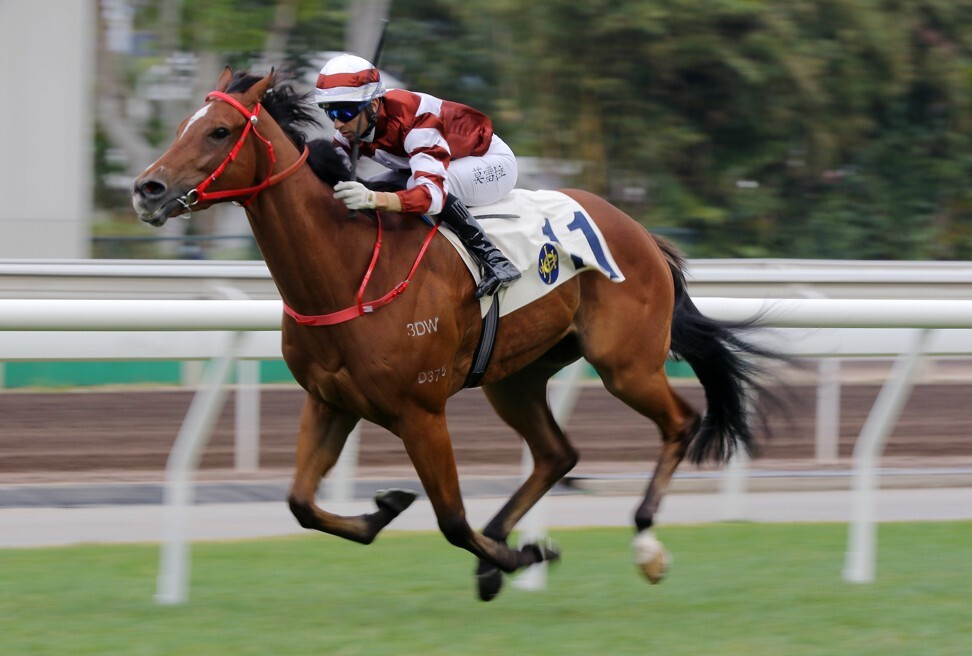 Sight Success clears out to win at Sha Tin on Sunday.