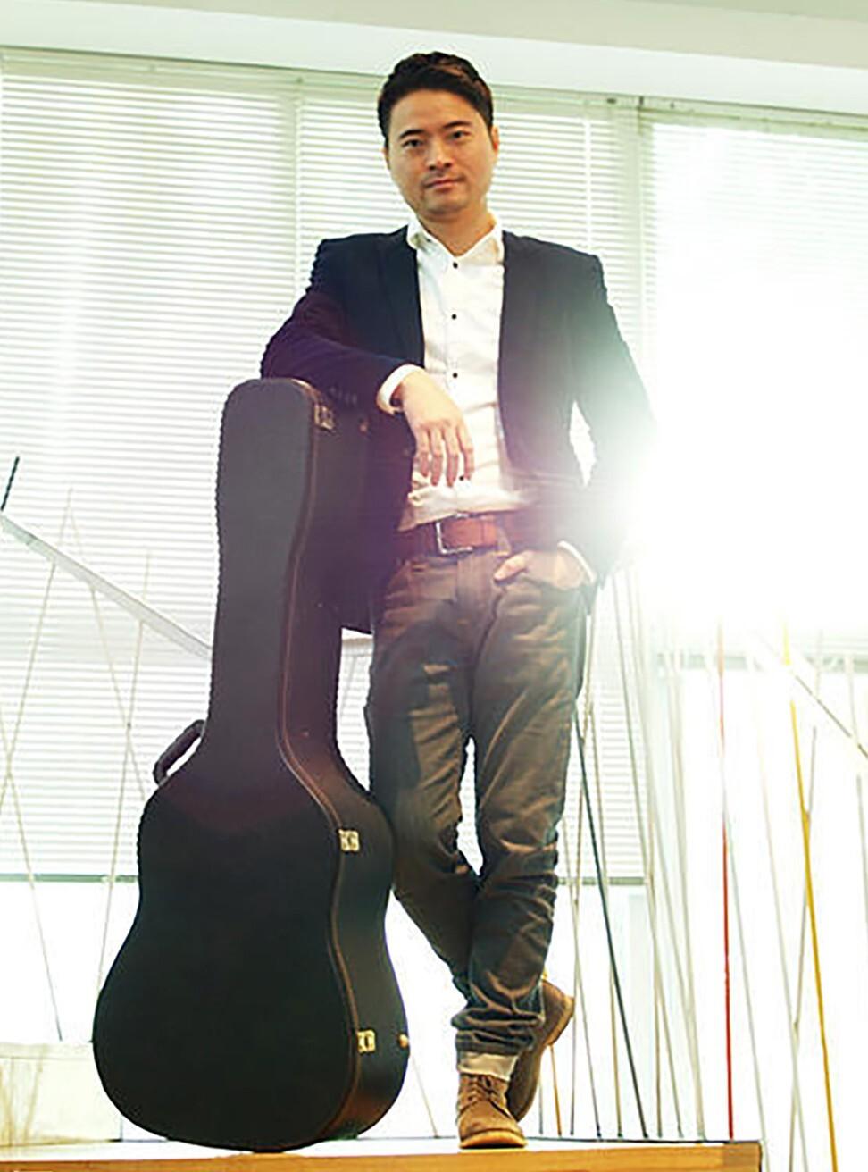 Xiami founder Wang Hao. Photo: Handout