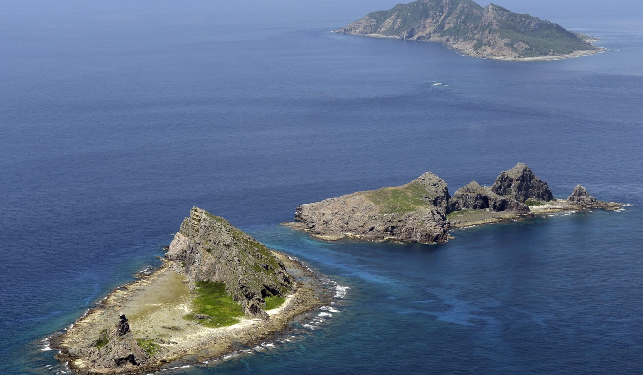 Japanese diplomats reportedly lodged a protest against the growing presence of Chinese coastguard vessels near the Senkaku Islands, known as the Diaoyus in China. Photo: Kyodo