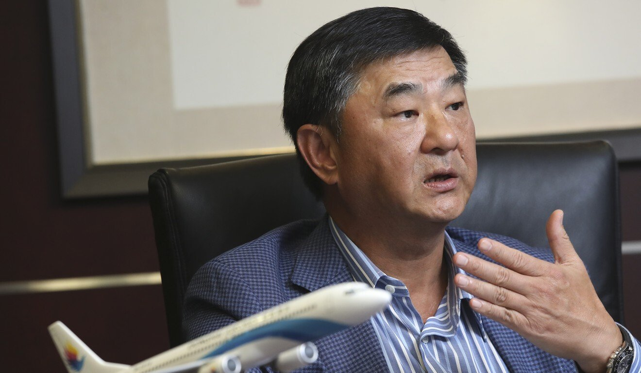Donghai Airlines owner and Greater Bay Airlines founder Bill Wong. Photo: K. Y. Cheng