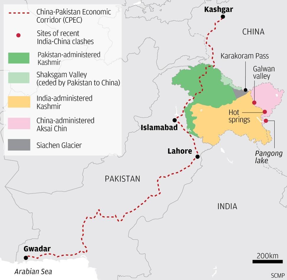 The China-Pakistan Economic Corridor.