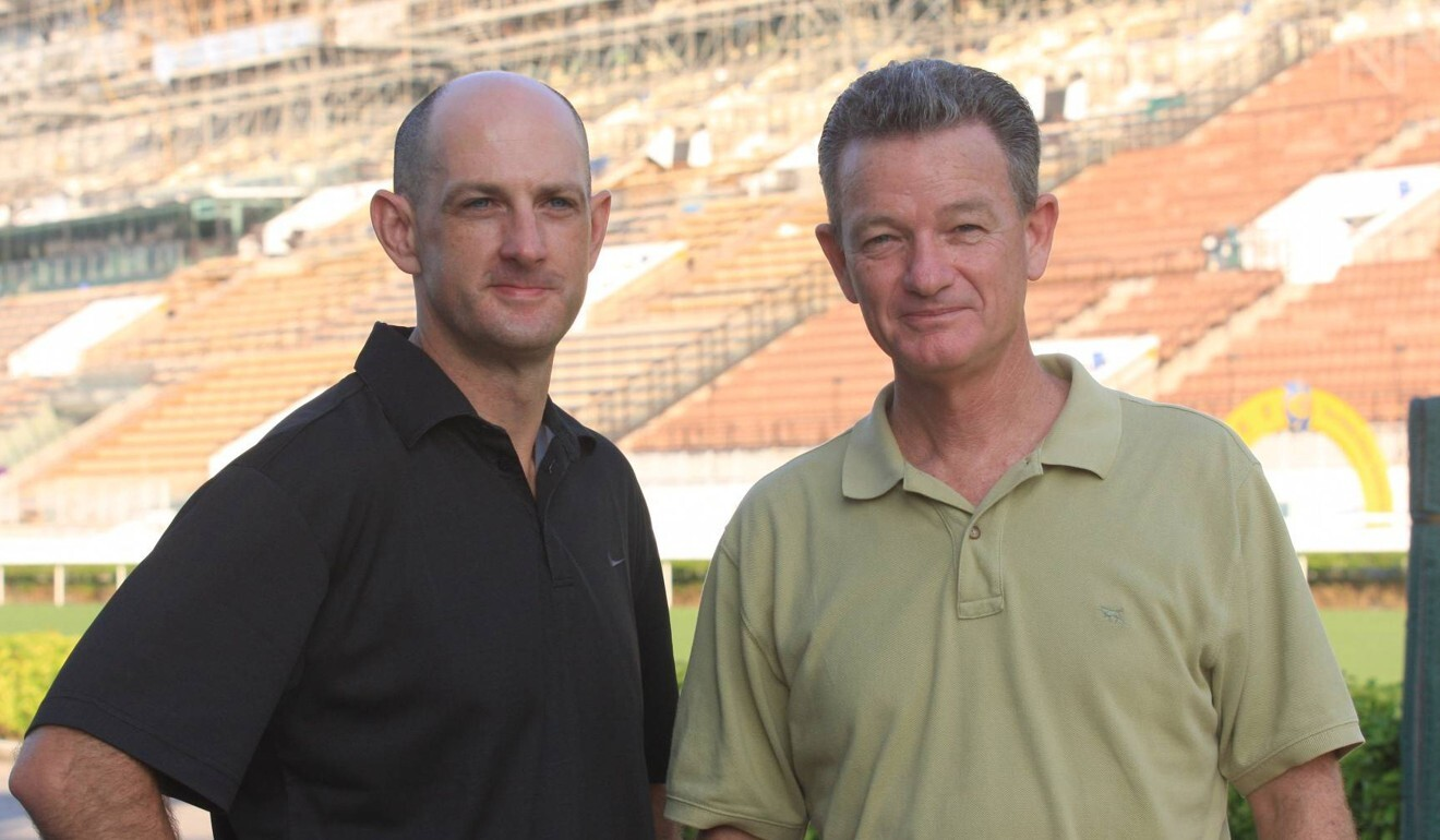 Chief steward Kim Kelly (left) with Steve Railton in 2009.