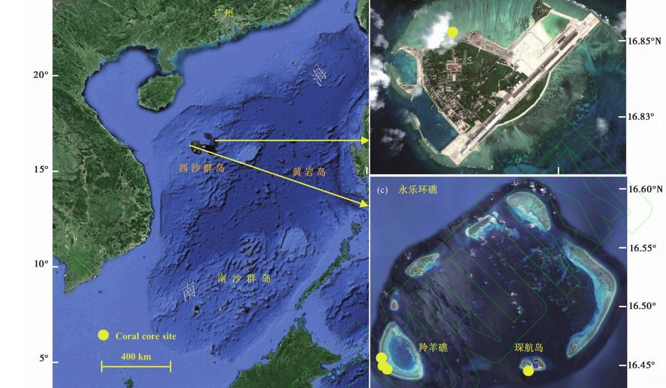 The Chinese study was led by Tao Shichen from the South China Sea Institute of Oceanology. Photo: Tao Shichen