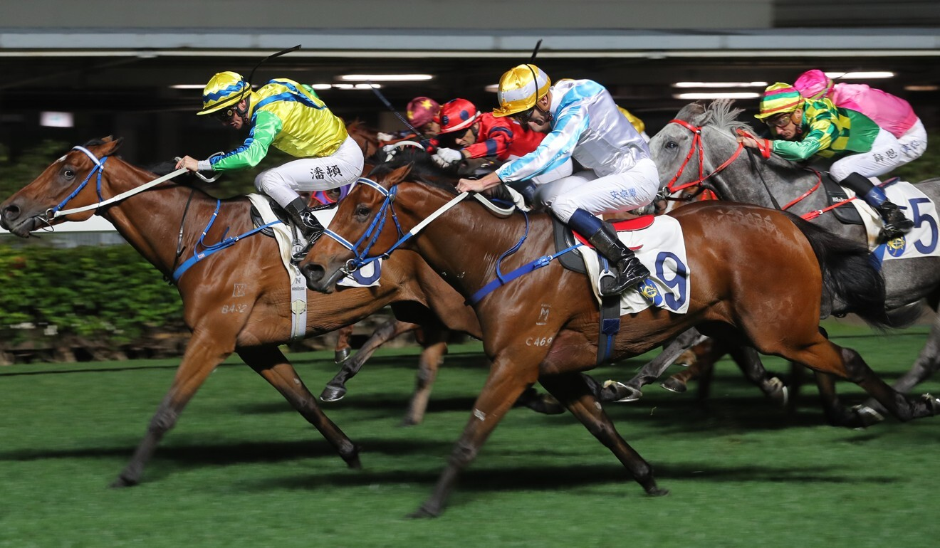Methane (right) powers home at Happy Valley.