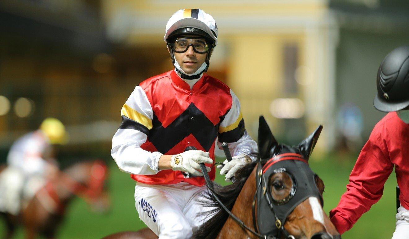 Joao Moreira returns after winning on Stock Legend.