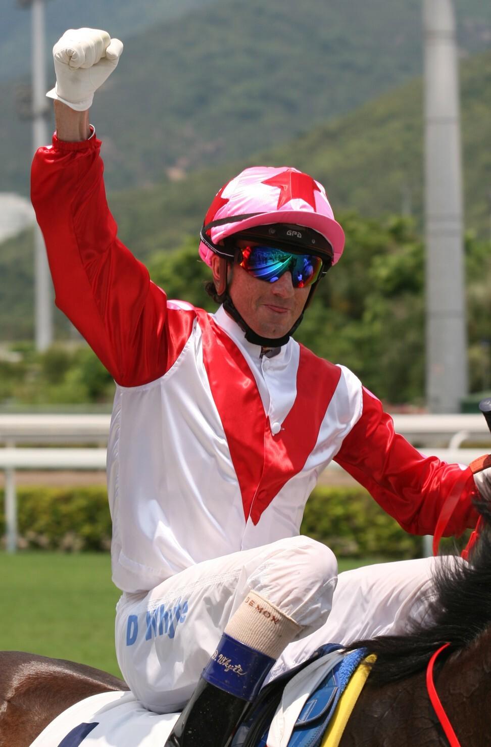 Douglas Whyte returns after winning aboard Congratulation in 2007.