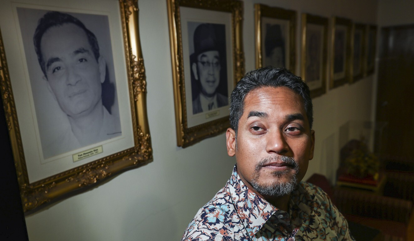 Science minister Khairy Jamaluddin in 2018. Photo: Nora Tam