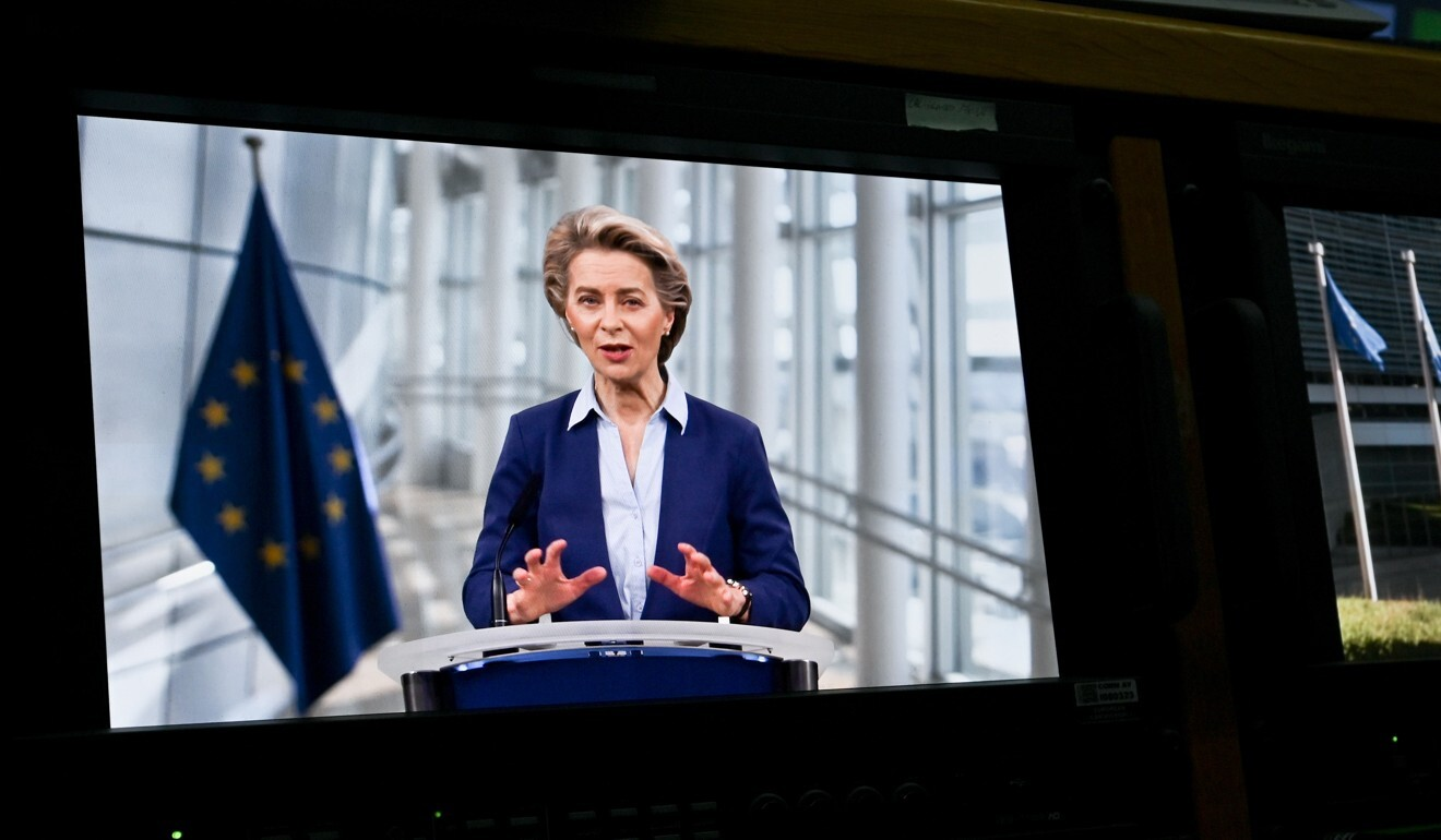 EC President Ursula von der Leyen says the EU's reliance on rare earths from China is not sustainable. Photo: Etienne Ansotte/European Commission/dpa