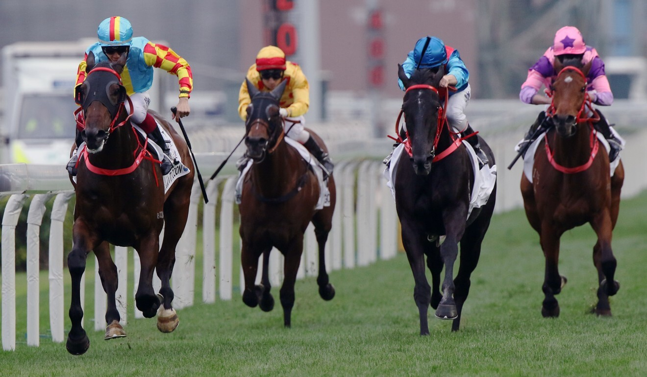 Mission Tycoon (left) wins the 2019 Classic Cup.