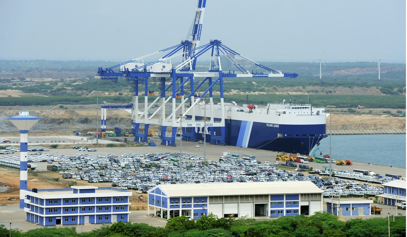 Beijing said the deal was not being renegotiated, and that the port had overcome the challenges of the pandemic and its operations were expanding. Photo: AFP