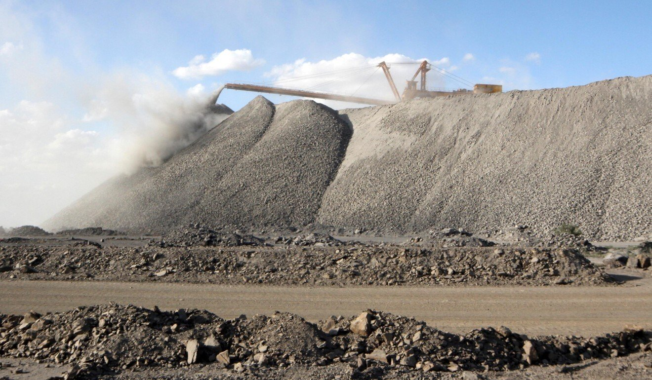 According to Ursula von der Leyen, 98 per cent of the rare earths the EU needs come from Chinese mines like this one in the Inner Mongolia region. Photo: Reuters