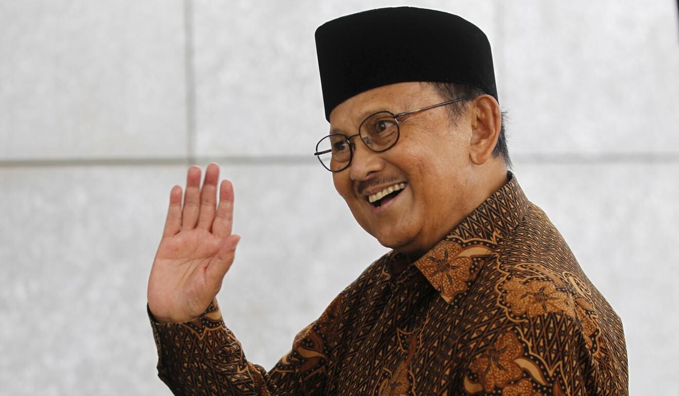 Former Indonesian president B. J. Habibie. Photo: Reuters