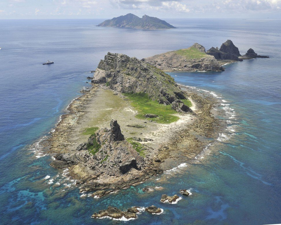 The islands known as the Diaoyus by China and the Senkakus by Japan. Photo: Kyodo