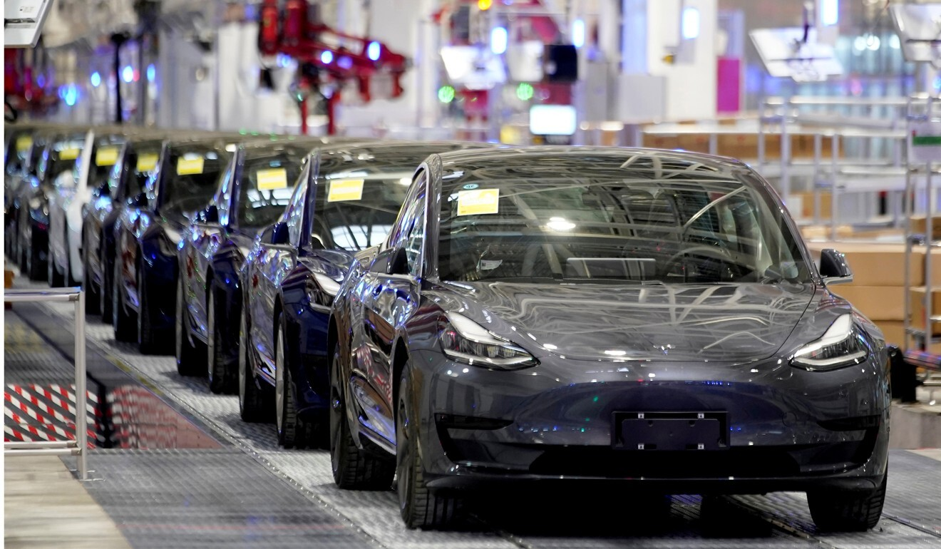 Tesla opened a factory in Shanghai in 2018. Photo: Reuters