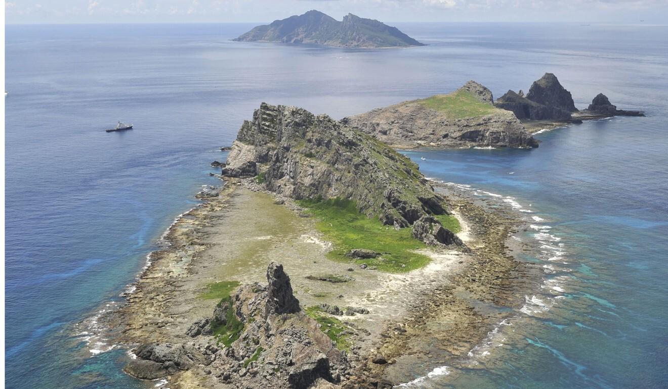 The Senkaku Islands, which China refers to as the Diaoyu Islands, in the East China Sea. Photo: Kyodo