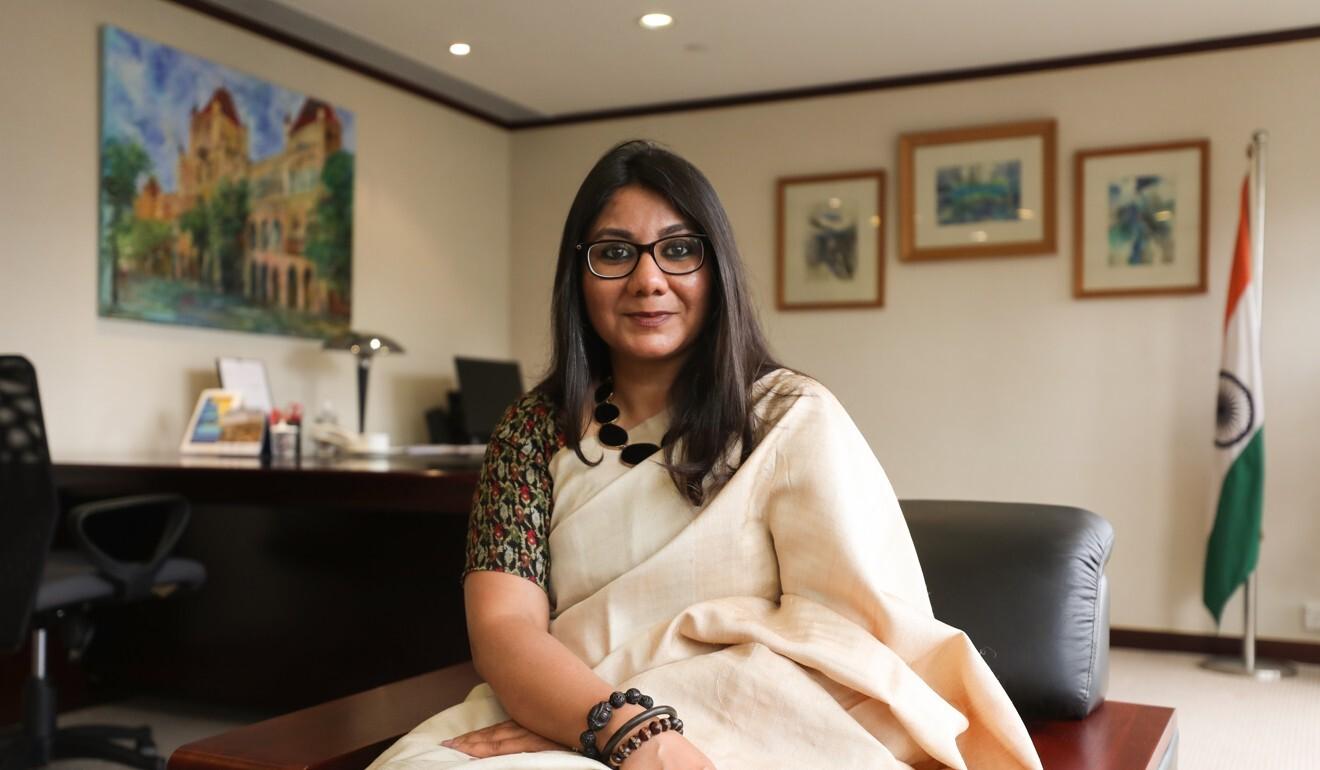 India's consul-general to Hong Kong Priyanka Chauhan. Photo: Xiaomei Chen