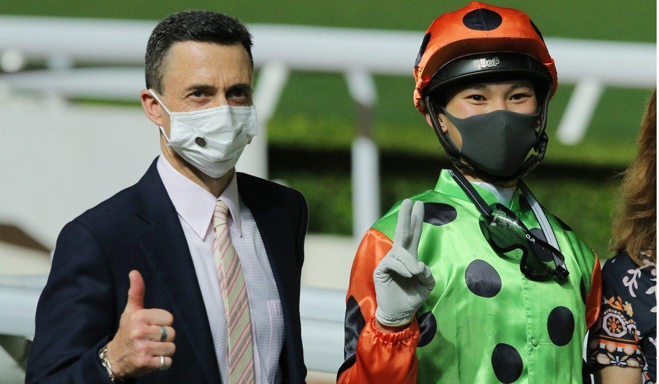 Douglas Whyte and Jerry Chau.