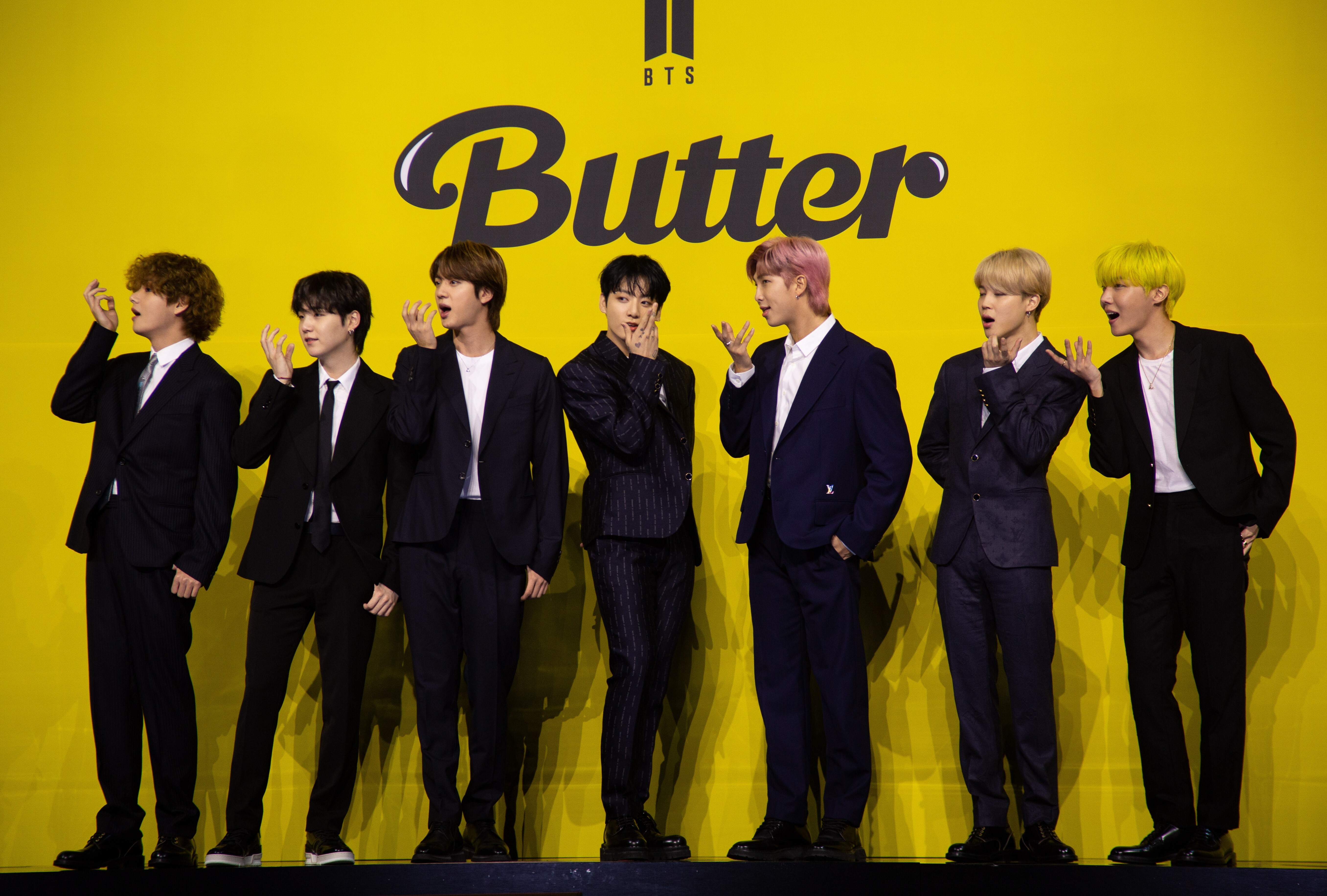 22 BTS' summer hit 'Butter' melts records on YouTube and Spotify   YP ...