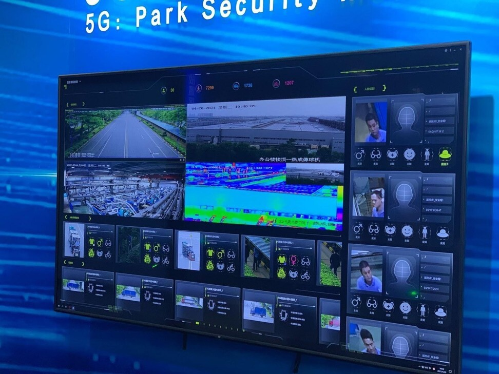Midea's factory has 5G-connected sensors and cameras, powered by AI, tracking the movement of any personnel, bikes and trucks on site. Photo: Handout