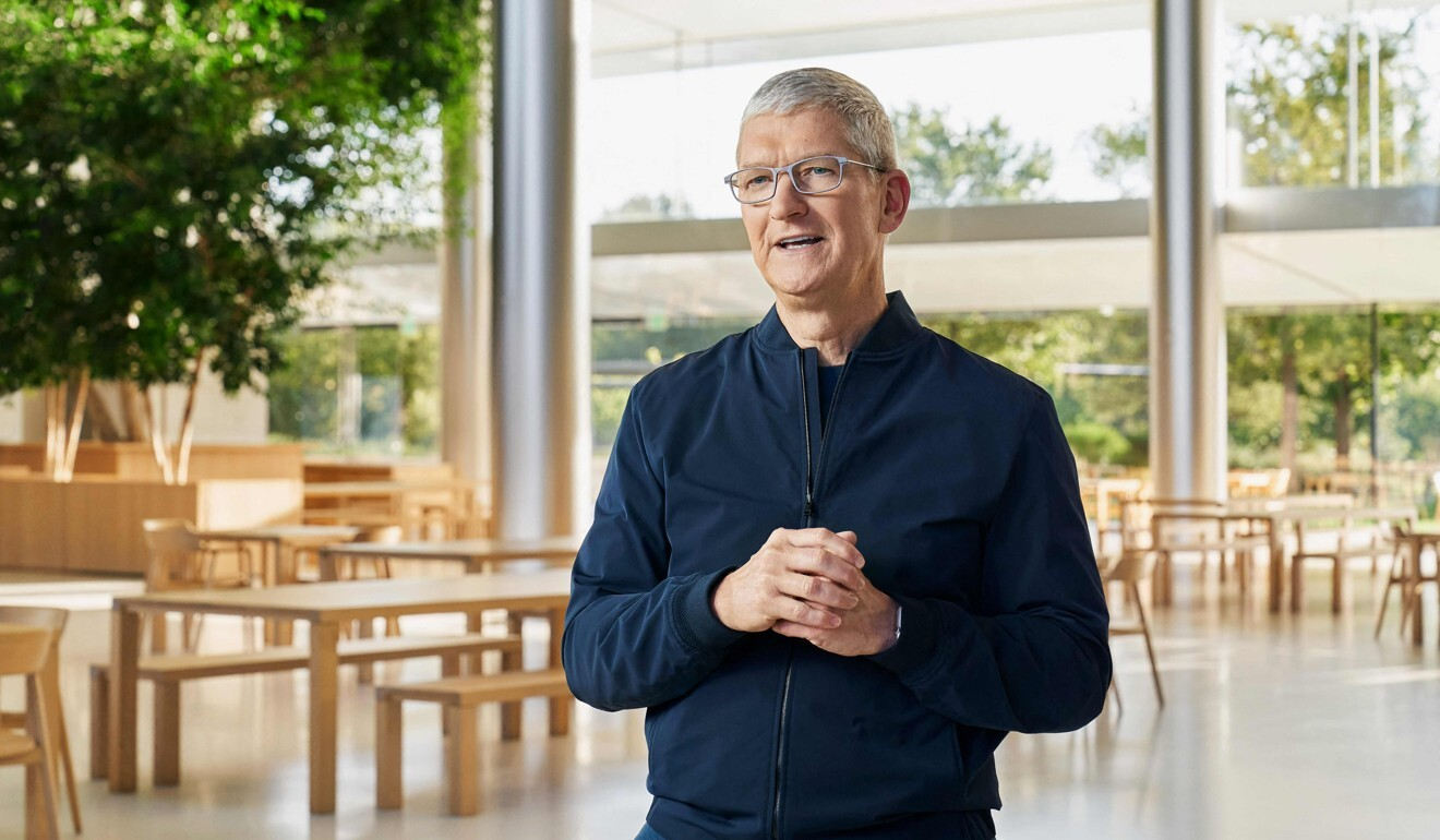 Apple CEO Tim Cook has actively cultivated government and business ties with China during his frequent visits to the mainland. Photo: AFP