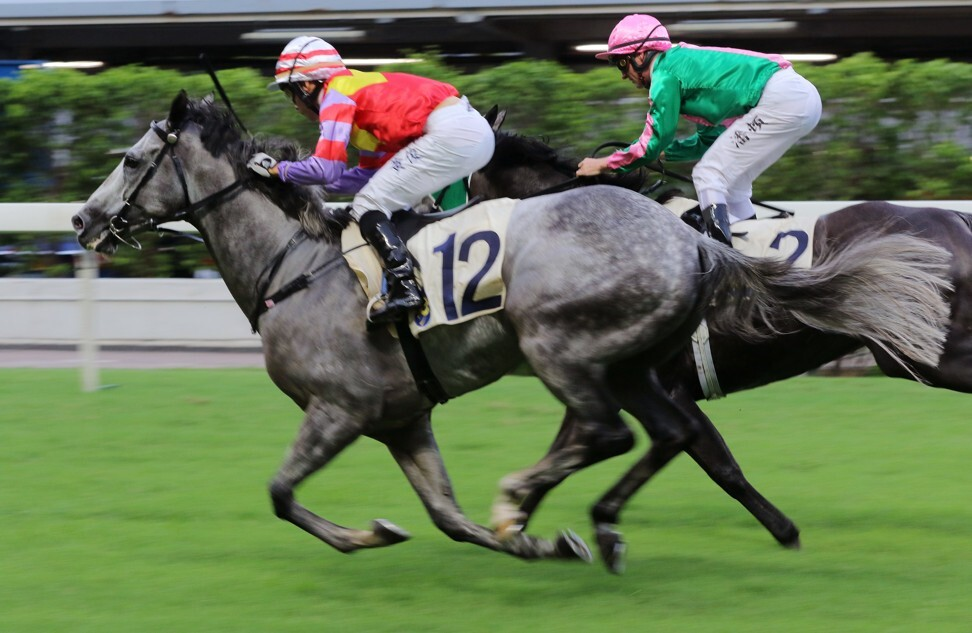 Victor Wong boots home Money Winner at Happy Valley in July last year, his most recent success.