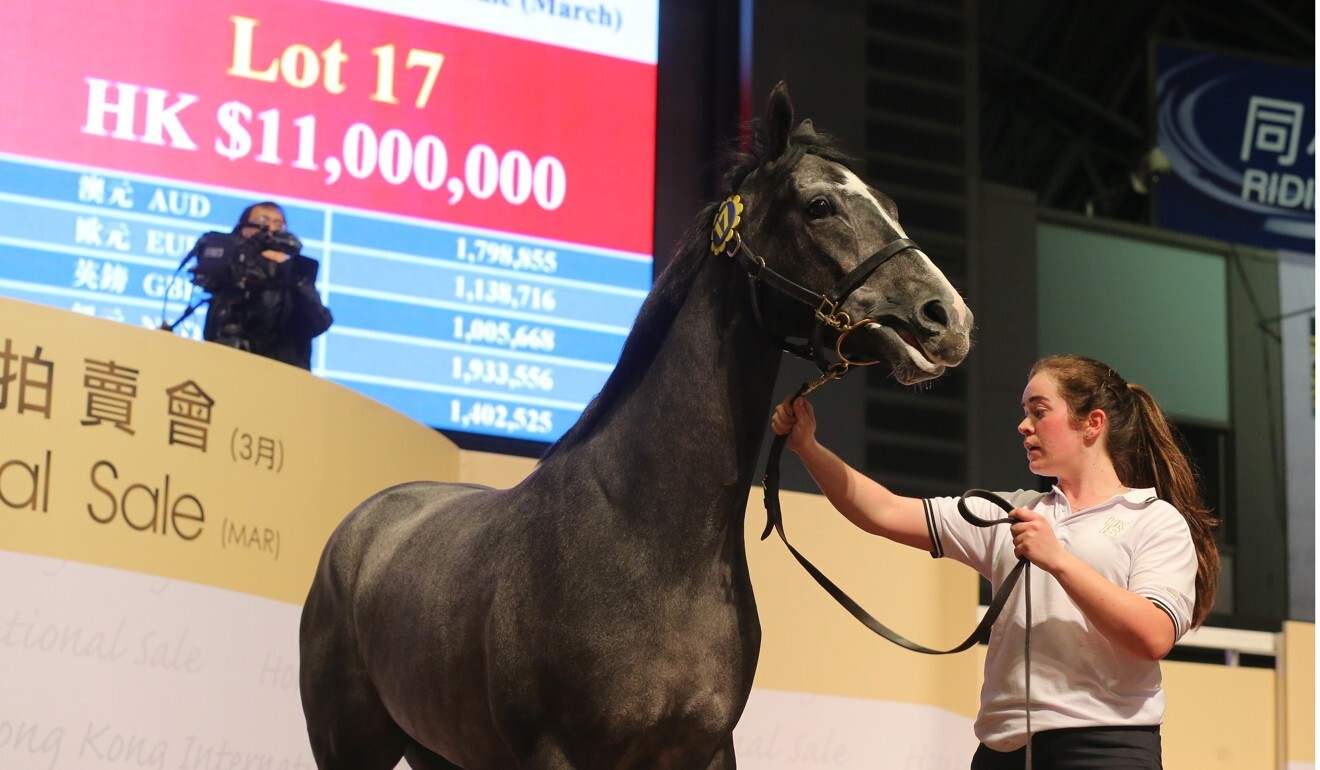 Circuit Number One goes under the hammer for HK$11 million.