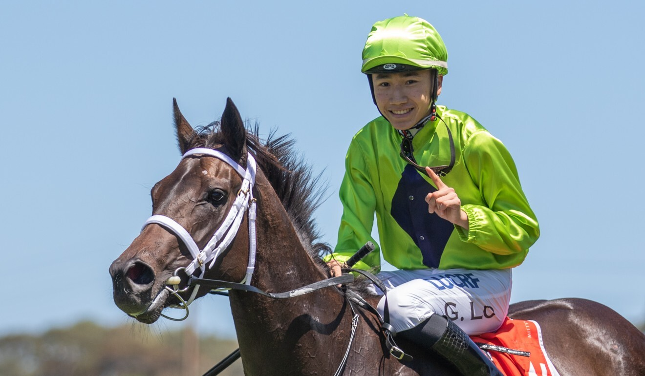 Apprentice Gary Lo during his first stint in Adelaide.