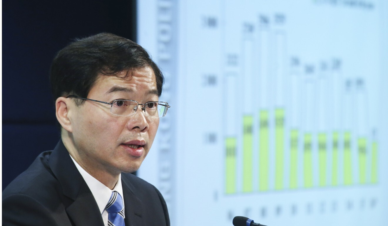 Undersecretary for Security Sonny Au. Photo: David Wong